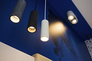 Detail kamer lamp